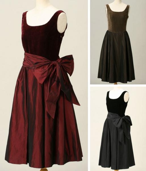 手持ちのドレスに大きなリボンを手作りで付けようと思っています。